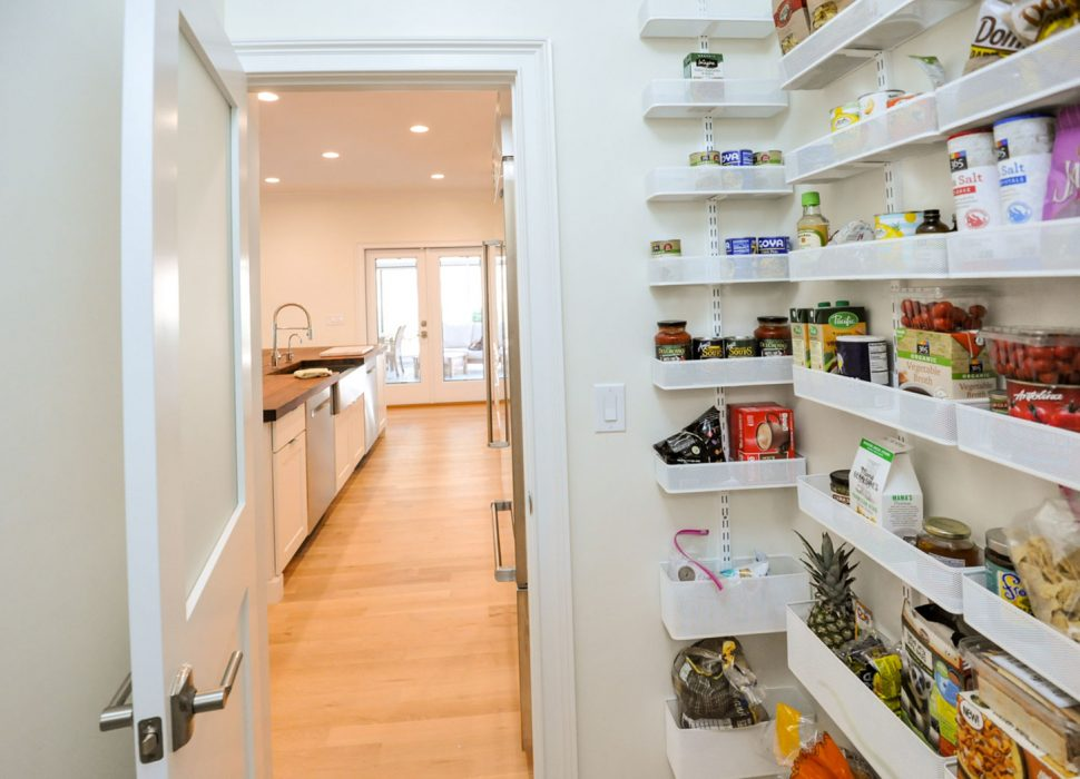 updated kitchen and pantry