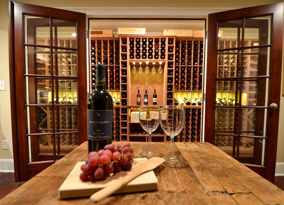 updated wine area